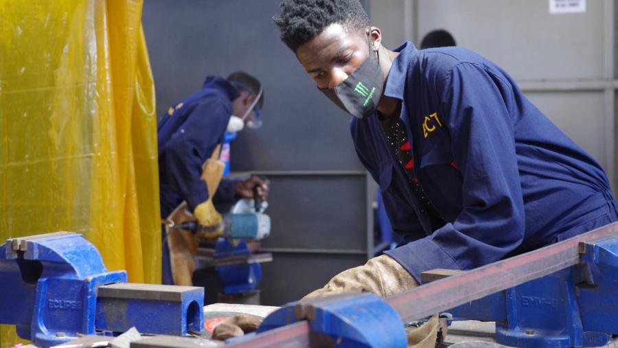 Auszubildende von ECT in Kenia
