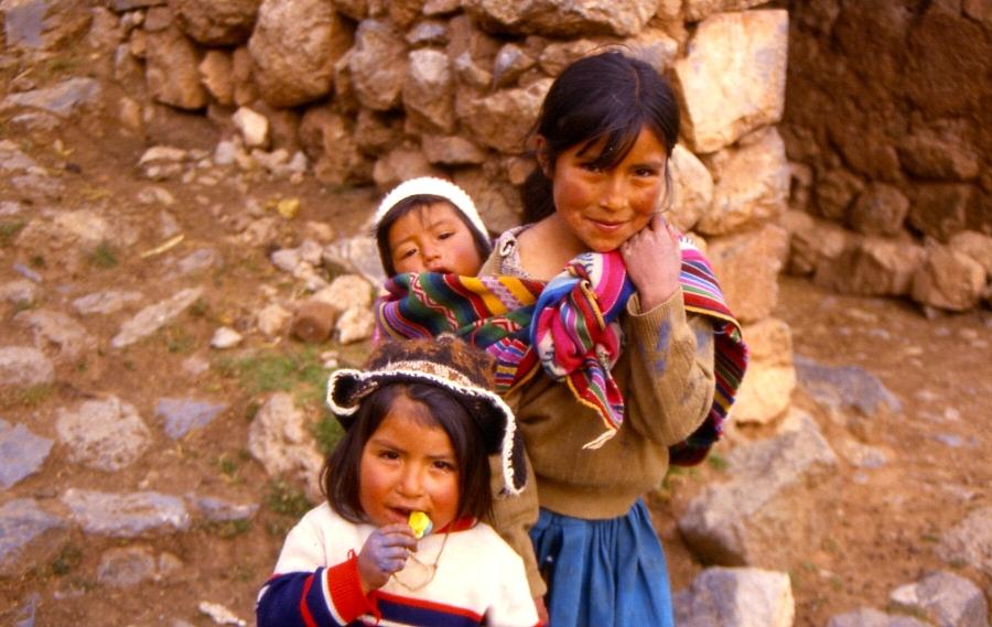 Kinder aus Peru